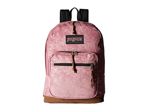 [JanSport Right Pack Expressions (Vintage Pink Rose Corduroy)] (Womens Pink Corduroy)