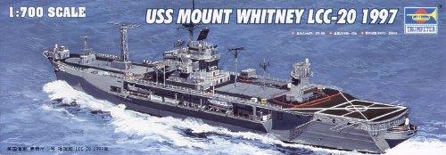 Trumpeter 1/700 USS Mount Whitney LCC20 Fleet Flagship 1997 Model Kit