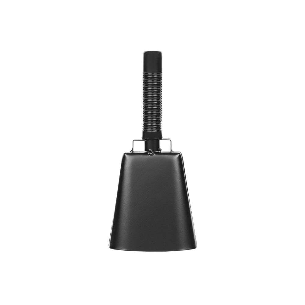 10 Inch Steel Cowbell with Stick Rubber Grip Handle Great for Weddings, Sport Events, Farms and Rodeos, Birthday Parties, Marching Bands, and Musical Events by RZMAYIS
