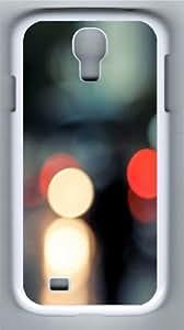 Bokeh 6 Custom Samsung Galaxy I9500/Samsung Galaxy S4 Case Cover Polycarbonate White