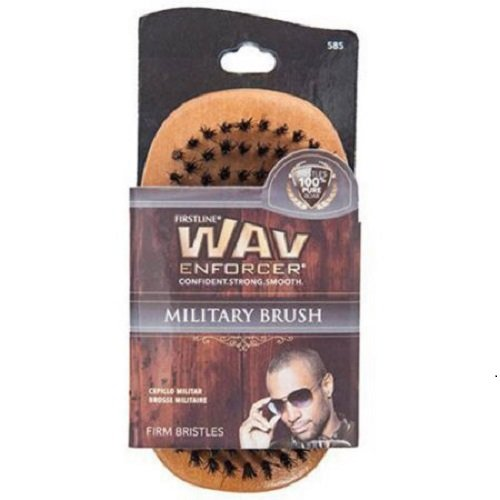 military brush