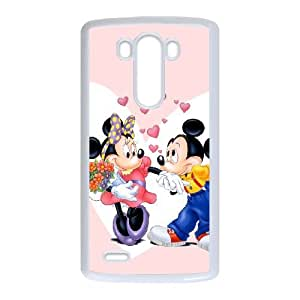 Disney Mickey Mouse Minnie Mouse LG G3 Cell Phone Case White present pp001_9795414