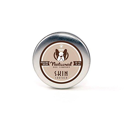 NaturalDog.com peau sucette - bio, Vegan guérison Baume - points chauds, folliculite bactérienne, dermatite, alopécie, peau sèche squameuse - 8 ml/0,25 oz format de voyage