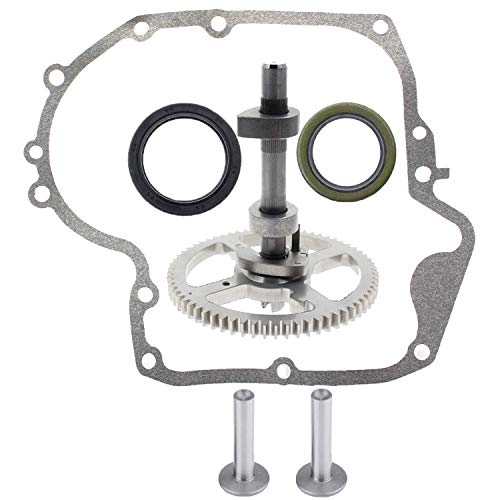 (Wadoy 793880 Camshaft Kit Replacement for Briggs and Stratton 793583, 792681, 791942, 795102 Crankcase Gasket Oil Seal)