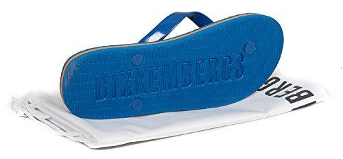Männer Slipper Flip-Flops Swimwear Herr Mann BIKKEMBERGS Artikel B6A8032 0270 2020 Bluette