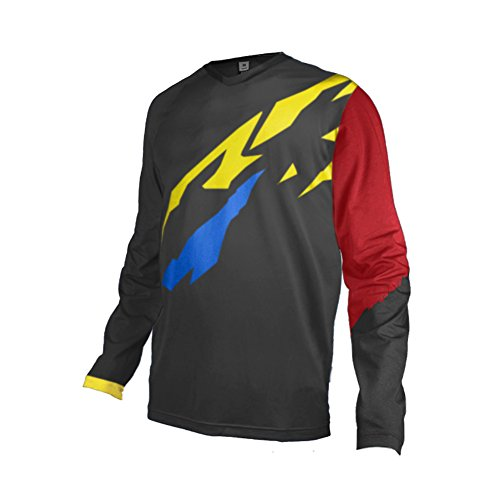 Uglyfrog 2017 Mens Rage MTB/Downhill Jersey Cycling/Motocross Mountain Bike Long Sleeve - Sleeve Tri Long Suit