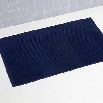 Linens Limited - Toalla de baño (100% algodón Turco Alfombrilla de baño, Color Azul Marino: Amazon.es: Hogar