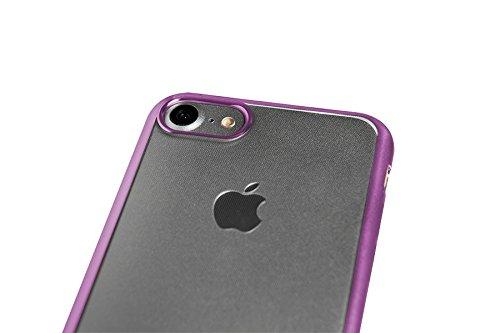 Spada 4052335027425 Electro-Style Schutzhülle für Apple iPhone 7 rosa