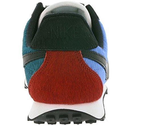 Nike Dames Pre Montreal Racer Vntg Prm Hardloopschoenen 844930 Sneakers Schoenen Zwart Star Blue 001
