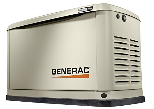 Generac 7077 Guardian Series 20kW/17kW Air Cooled Standby Generator with Aluminum Enclosure - 3 phase