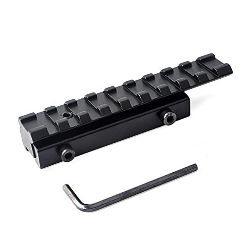 11mm to 20mm Dovetail to Weaver Rail Mount Base Adapter Extension Scope Mount Converter ()