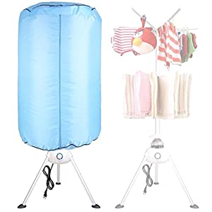 Portable Electric Clothing Dryer 1000W Heater Drying Machine Lightweight