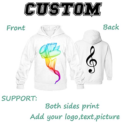 Custom Cotton Hoodies Sweatshirt Personalized Sweater Sport Comfortable Men
