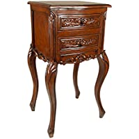 Design Toscano Saint-Lazare Louis XV Occasional Table, Oak