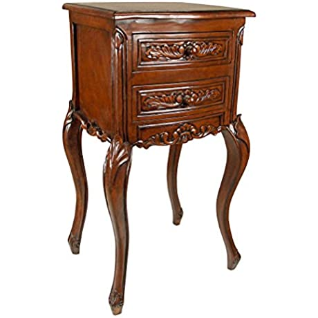 Design Toscano Saint Lazare Louis XV Occasional Table Oak