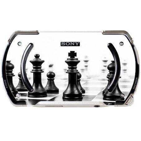 Chess Black and White PSP Go Vinyl Decal Sticker Skin by Moonlight Printing (Psp Chess)