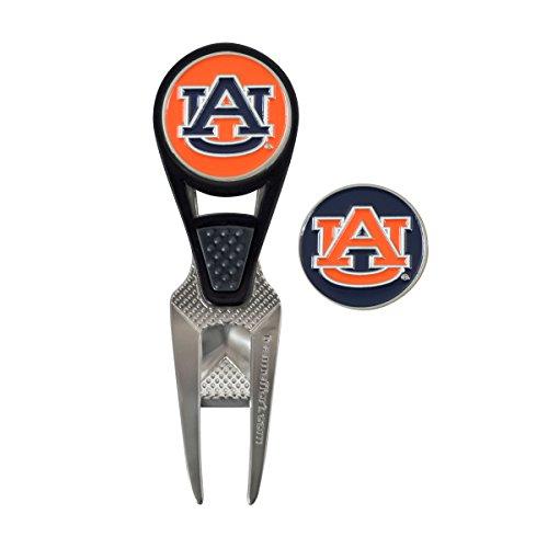 Team Effort Auburn Tigers Cvx Ball Mark Repair Tool (Auburn Divot Tool)