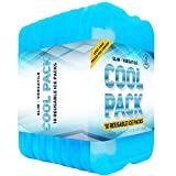 Healthy Packers Ice Pack for Lunch Box - Freezer Packs - Original Cool Pack (Set of 10) | Slim & Long-Lasting Ice Packs...