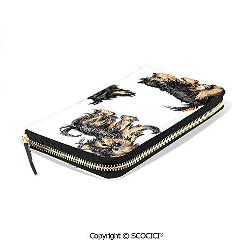 SCOCICI Purse With Zip...