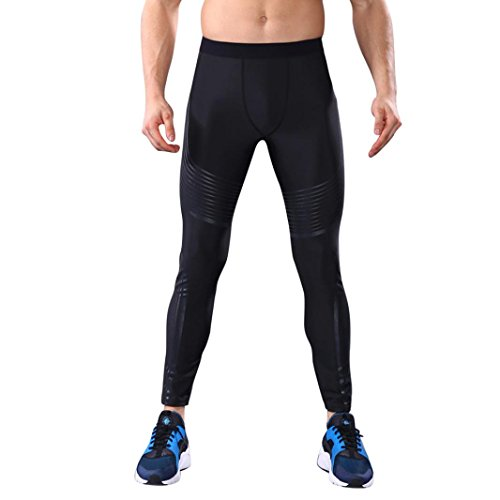 Warm Sport Pants! Tootu Men Fashion Workout Leggings Fitness Running Yoga Athletic Pants (M, - Made Of What Bikinis Out Are