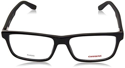 Carrera - CA 6654, Géométriques, acétate, homme, BLACK (KUN), 53/16/140
