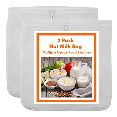 Ouddy 2 Pack Nut Milk Bag - 12