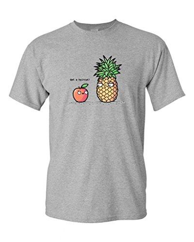Randy Otter Haircut Pineapple DT Adult T-Shirt Tee
