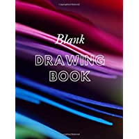 "Blank Drawing Book: 200 pages, 8.5"" x 11"""