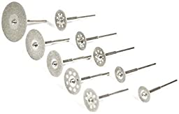 10 Diamond Cutting Grinding Disc\'s Used With Dremel Foredom Rotary Tools