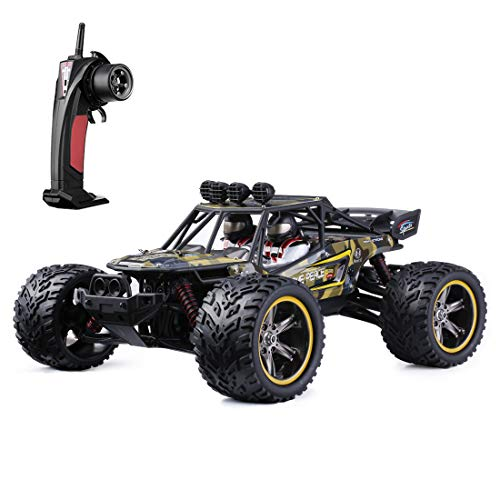 GPTOYS S916 RC Monster Truck, 26Mph 1/12 Scale 2.4Ghz RC Off-Road Car Electric Car 2WD Remote Control Truggy Truck Christma for Kids
