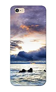 New Tpu Hard Case Premium Iphone 6 Plus Skin Case Cover(storm At Sea ) For Christmas Gift