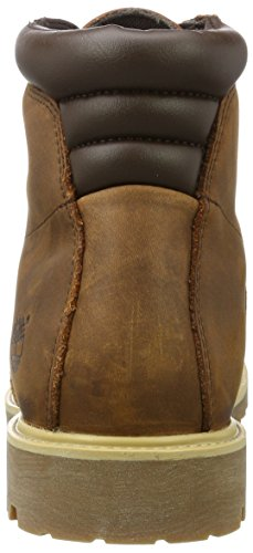 Timberland Herren 6 in Basic Alburn Waterproof Stiefel Braun (Mocha Bisque)
