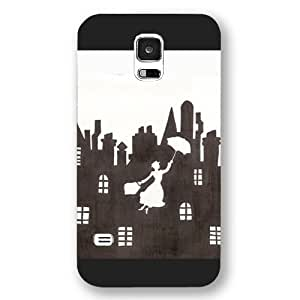 Diy Black Frosted Disney Cartoon MuLan For Iphone 5/5s Cover
