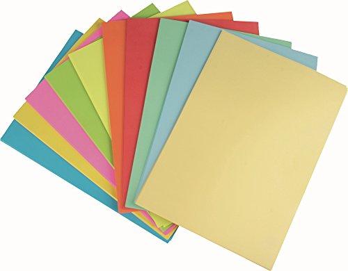 STYLEX Farbiges Papier, 250 Blatt blanko, A4