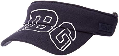 [ニューバランス ゴルフ] [レディース] スウェット サンバイザー (機能素材COOLMAX) ゴルフ 帽子 012-8287505