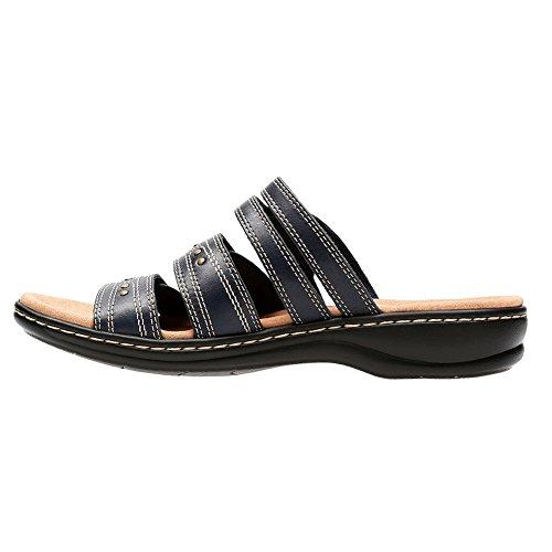 Femmes Navy Chaussures Slide Lakia Clarks xwdqU4S6x
