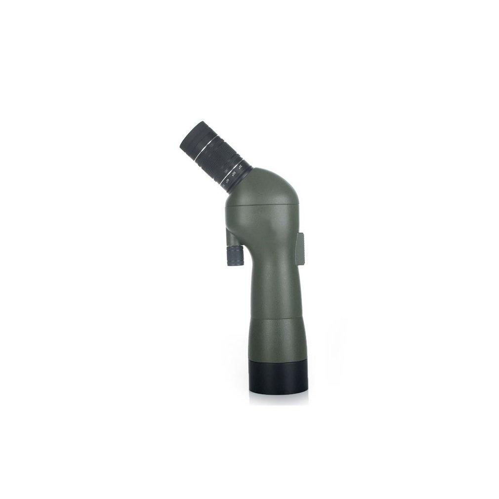 XQQQ - Fernglas Spektiv für Vogelbeobachtung - 20-60x60 Zoom Monokulares Kompaktteleskop - FMC Optik - Wasserdicht - Mit Handstativ, Etui, Vogel Sucher Okular zoom Fernglas HD Professional High-End-Brille für Erwachsene