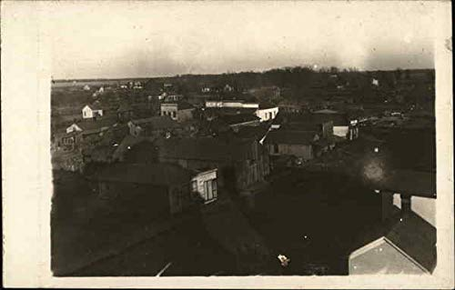 Birds Eye View Kilbourne, Illinois Original Vintage Postcard