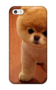 New Iphone 5/5s Case Cover Casing(cute Pomeranian Dog)