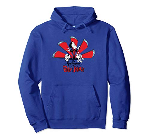 The Grim Adventures of Billy & Mandy Grim Adventures Pullover Hoodie (The Grim Adventures Of Billy And Mandy Crushed)
