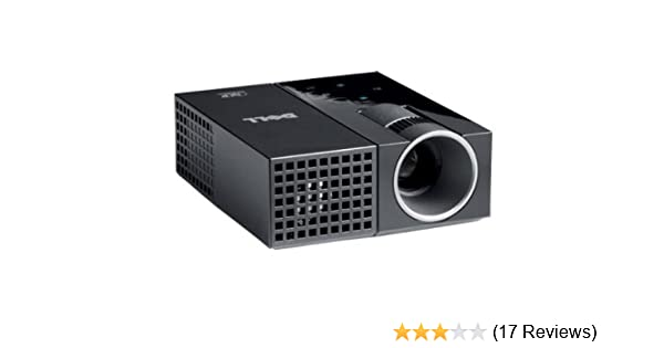 Dell M109s On-the-go DLP Projector - 50 ANSI lumens - SVGA (858 x 600) - Aspect Ratio: 4:3 - Contrast Ratio 800:1 - Pocket-sized