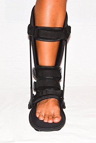 StrictlyStability Plantar Night Boot with 4 Straps, Double Sided Buckles, 2 Stretch Wedges & Massage Ball (Small) by StrictlyStability (Image #7)