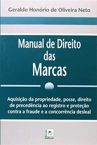 Manual De Direito Das Marcas