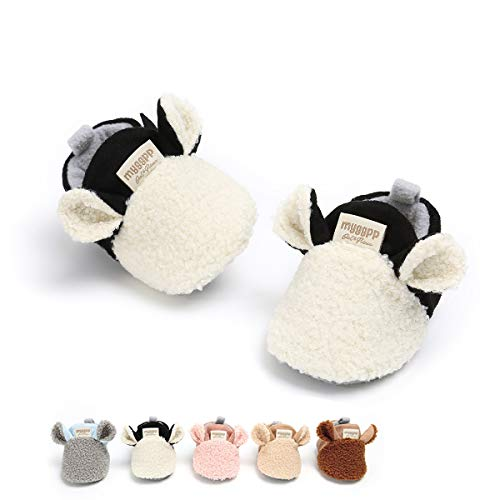 Baby Boys Girls Warm Boots Soft Sole First Walker Infant Crib Shoes(12cm(8-14 months),White) (Boots Clothes Apparel)