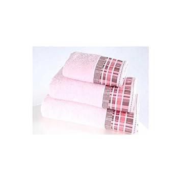 Serra Home Hotel & Spa - Toalla de jacquard de algodón turco suave 70 x 130