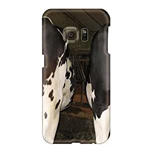Great Hard Cell-phone Cases For Samsung Galaxy S6 (YJx18054Mxfg) Custom Trendy Moo Moo Pattern