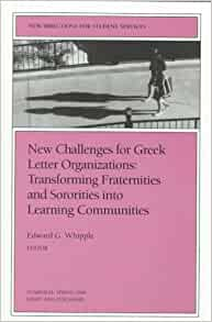 greek letter organizations new challenges for letter organizations new 22038 | 41NS2RJ6XQL. SY291 BO1,204,203,200 QL40