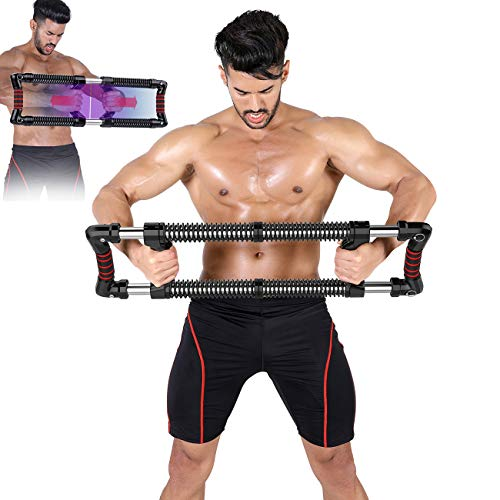EAST MOUNT Push Down Bar for Upper Body Workout Chest and Arm Fitness Mens Gifts for Christmas Shoulder Chest Exercise for Pectoralis Deltoid Training Muscle and Strength Builder for Home Gym