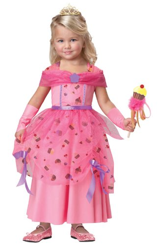 California Costumes Sweet Fairy Princess Costume, 4-6 (Cupcake Halloween Costume For Toddler)