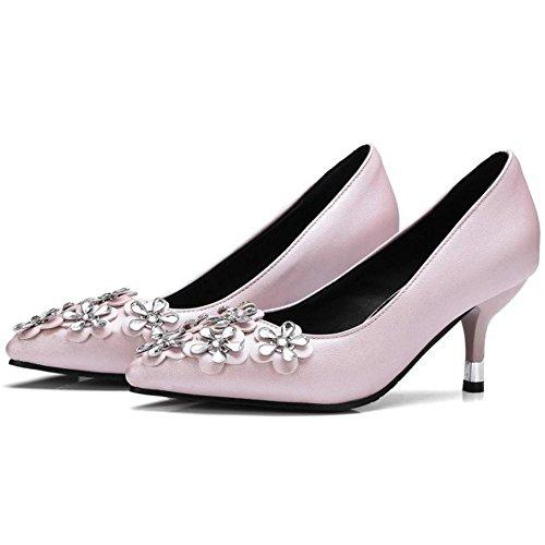 Pumps Kitten Pink Heel Women KemeKiss xtqgzz